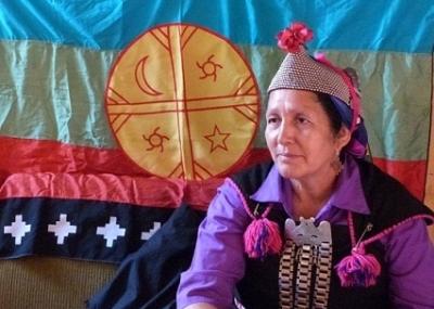 Carabineros detuvo a la lonko Juana Calfunao en La Araucanía
