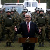 Piñera in the jungle: la estrategia de matinal que despliega el Gobierno en seguridad ciudadana
