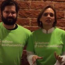 Gabriel Boric y Carolina Goic invitan a donar los 7 mil pesos del confort