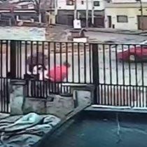 Hombres salvan a una mujer que iba a ser secuestrada