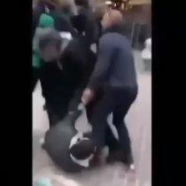 La escandalosa reacción del guardaespaldas de Macrón