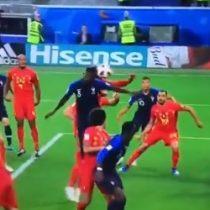 Rusia 2018:  El cabezazo de Umtiti que marcó el 1 a 0 entre Francia y Bélgica