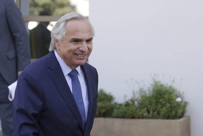 ¿Chadwick presidente?: Parlamentarios UDI levantan candidatura del ministro de Interior