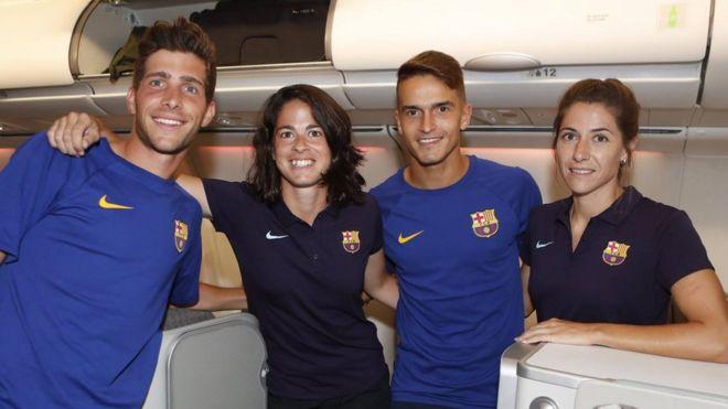 La polémica que desató el FC Barcelona por llevar a sus jugadoras en clase turista y a sus jugadores en business