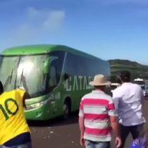 En todos lados se cuecen habas: brasileños reciben a pedradas a su selección