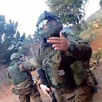 Las dramáticas imágenes del ingreso del Comando Jungla a una comunidad Mapuche