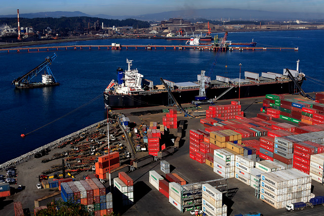 Chile anota superávit comercial de US$ 5.511 en el primer semestre