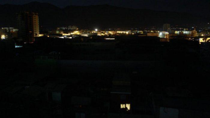 Al menos cuatro comunas son afectadas por un masivo corte de luz en Santiago
