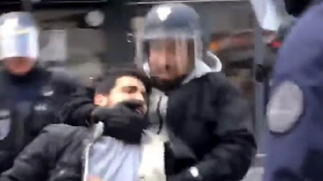 Escándalo en Francia: Cae el jefe de seguridad de Macron que golpeó a manifestantes