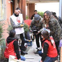 Voluntarios ayudan a pacientes de Teletón a mejorar la accesibilidad de su entorno