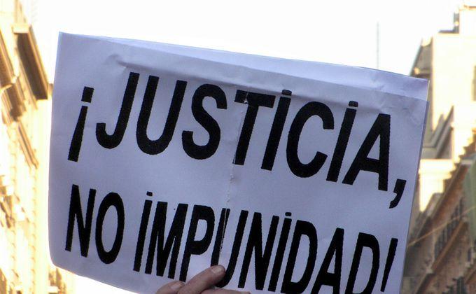 Derechos Humanos: Ofensiva por la Impunidad