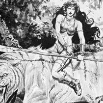 """Espada y planeta: El subgénero """"pulp"""" que renace en libro ilustrado chileno"""