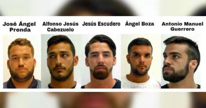 """Violadores sueltos: Justicia española confirma libertad provisional de """"La Manada"""""""