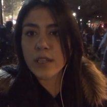 Macarena Segovia desde la marcha por el aborto libre:
