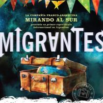 Migrantes: la obra sobre el desarraigo con un chileno en escena que triunfa en Baires