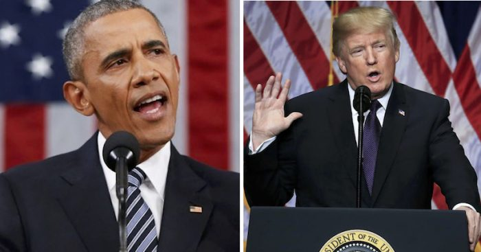 """Obama critica """"falta de interés"""" de Trump en la ciencia y el Cambio climático"""