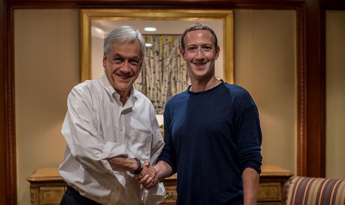 Piñera sorprende con reuniones junto a Mark Zuckerberg, Jeff Bezos, Tim Cook y otros líderes tecnológicos en EEUU