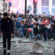 Triunfo de Francia en el Mundial de Rusia 2018 deja incidentes en todas las ciudades del país galo
