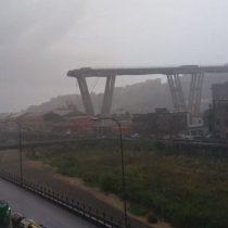 Italia: el desplome de un puente de autopista en Génova deja al menos 35 muertos
