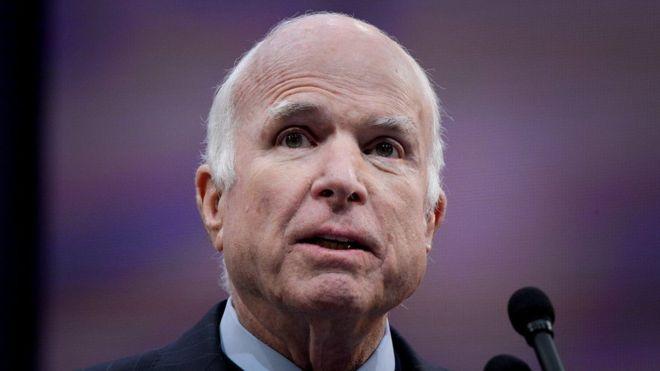Muere el senador republicano estadounidense John McCain a los 81 años a causa de un tumor cerebral