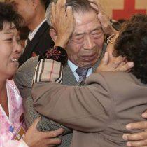 Familias de las dos Coreas se reúnen 65 años después y en plena distensión