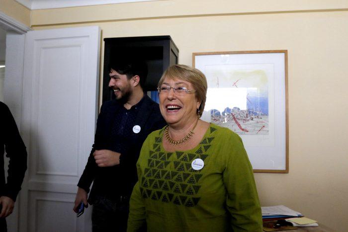 Horizonte Ciudadano: Bachelet presenta su fundación y asegura no tener aspiraciones políticas