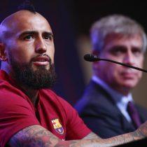 Vidal asegura que llegó con todo al Barcelona: