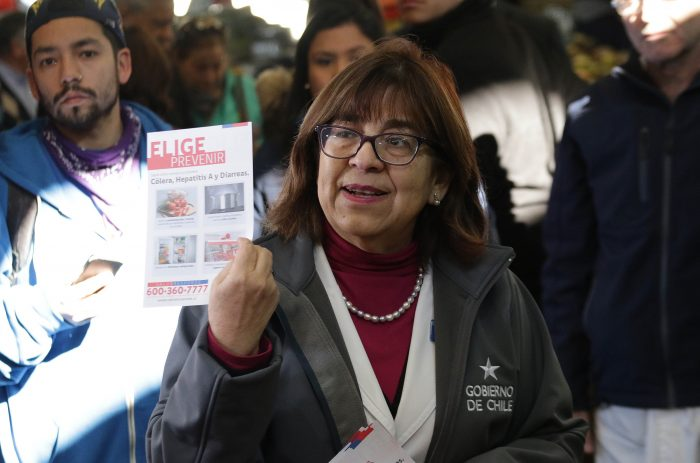 Casos sospechosos de cólera en la región Metropolitana ascienden a 21