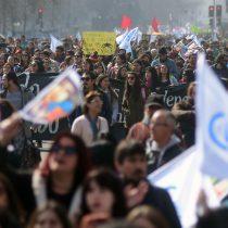 Paro nacional de profesores contó con la participación de 30 mil personas