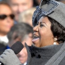 La cantante Aretha Franklin en estado