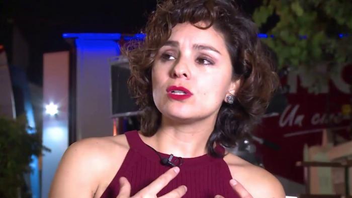 Nathalia Aragonese, de «Cabros de mierda», triunfa en Fortaleza como Mejor Actriz