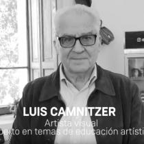 Reputado artista conceptual Luis Camnitzer en Sello Propio: