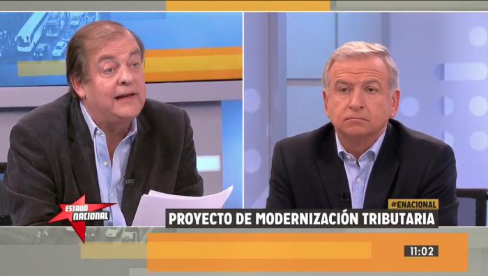 Larraín pide aprobar la reforma tributaria pero Vidal le notifica que el proyecto es