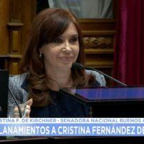 """El duro discurso de Cristina Fernández de Kirchner ante lo que calificó como """"una campaña de persecución y el hostigamiento"""""""