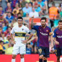 Arturo Vidal debuta como titular en el Barcelona en la cómoda victoria ante Boca Juniors por el Trofeo Joan Gamper