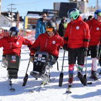 Cómo se preparan los protagonistas del ski paralímpico nacional para sus próximos desafíos en la nieve