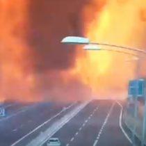 Impresionante explosión de un camión deja un muerto y 68 heridos en Italia