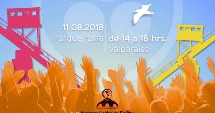 Festival del buen vivir en Parque Italia, Valparaíso