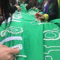 Los pañuelos verdes continúan en las calles de Argentina