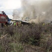 Avionazo en México: el dramático momento en el que se estrella el vuelo AM2431 de Aeroméxico en Durango