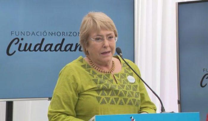 Horizonte Ciudadano: el (nuevo) regreso de Bachelet