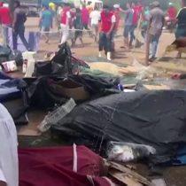 Inmigrantes venezolanos en Brasil son atacados por residentes de Pacaraima