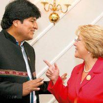 Evo Morales felicita a Bachelet por nombramiento en Naciones Unidas