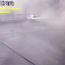 Colapso en Génova: el nuevo video de una cámara de seguridad que muestra el momento del desplome del puente Morandi