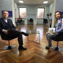 Óscar Landerretche después de Codelco: lanza libro para niños y, por ahora, mantiene distancia de lo público
