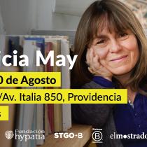 Ciclo de entrevistas Redes Virtuosas de Fundación Hypatia con antropóloga Patricia May en Teatro IF