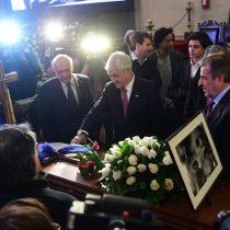 """Piñera le rinde honores a Andrés Aylwin: """"Fue un hombre valiente, consecuente"""""""