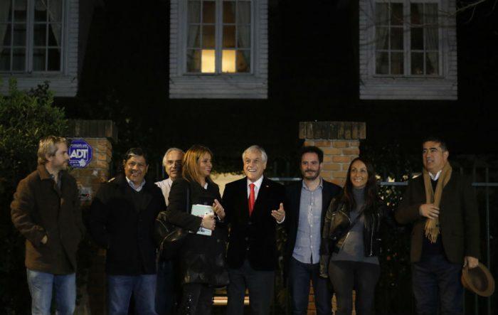 """Piñera intenta ordenar la casa en Chile Vamos tras seguidilla de """"fuego amigo"""""""