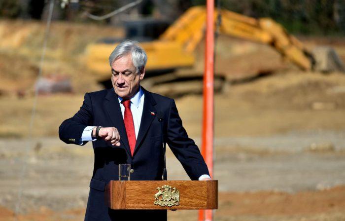 Confirmado que ya no hay luna de miel: desaprobación a Piñera subió del 25% en marzo al 41% en julio