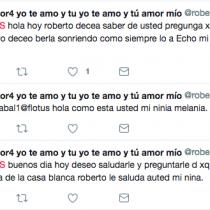 El tuitero chileno que saluda a Melania llega hasta el Huffington Post